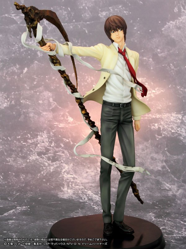 Death Note Action Figure 1/6 Scale Painted Killer Yagami Light Brinquedos PVC Action Figure Collectible Model Toy 26cm KT3373<br>