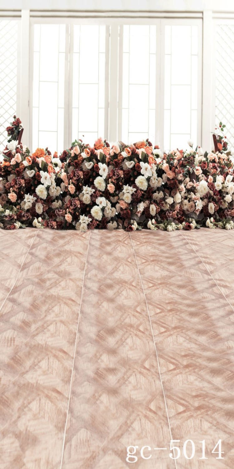 Free floor  wedding background gc-5014,2*3.5m scenic photography backdrops,backgrounds for studio,vinyl backdrop photography<br>