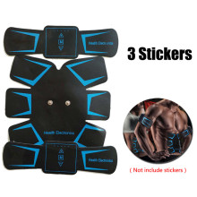 Best Deal EMS Muscle Trainer Stickers Abdominal Fitness Stimulator Belt Fitness Toner Building Arm Muscle Massager Device(China)