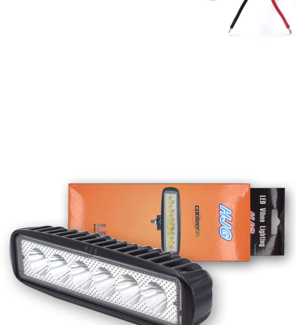 12V 24V Auto LED Light 18W Car Work Lamp Boat Vehicle Top Head Bulb 2000LM IP67 Waterproof Flood Beam Lighting Spot Lights (6)