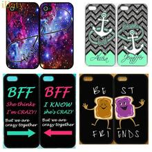 Best Friend Forever Hard Cell Phone Case For Apple iPhone 5 5S 5G BFF Mobile Cover Capinhas 20 Designs For Choice