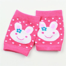 Children Toddler crawling protector knit kneepads girl's & boy's baby kids knee caps knitted leg warmers(China)