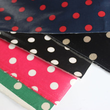 45*70cm/pcs dot design oilcloth uk brandwaterproof fabric 1/4yard.Handmade materials for tablecloth,bags etc(China)
