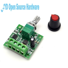 1pcs 1.8v 3v 5v 6v 7.2v 12v DC 2A 30W Motor Speed Controller Regulator (PWM) 1803BK Adjustable Driver Switch