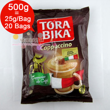 Box = 20 Bags * 25g/ Bag Torabika Cappuccino Instant Coffee Slimming Green Coffee good tea companion