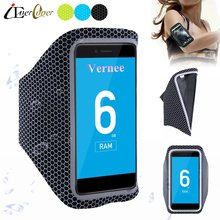 Running Ultra Light Arm Band Case for Vernee Mix 2 / Mars Pro , Apollo X , Thor Plus , Mars , Apollo Lite Phone Pouch Bag Cover(China)