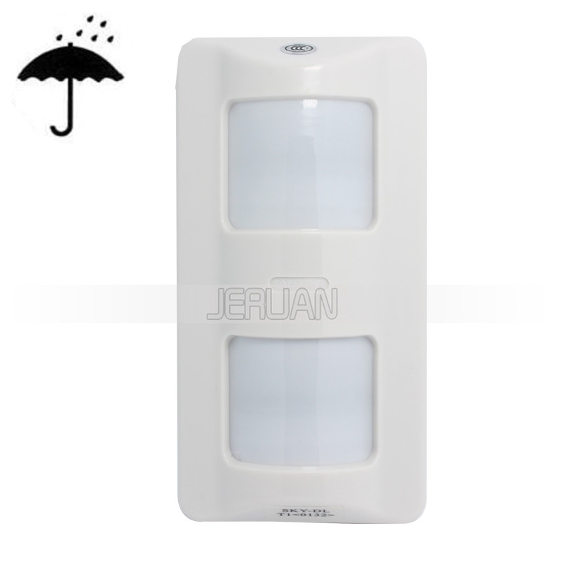 (10PCS)  WIred Outdoor 3-infrared intelligent PIR Sensor Outdoor waterpfroof  Wide angle Motion detector 0132 free shipping<br>
