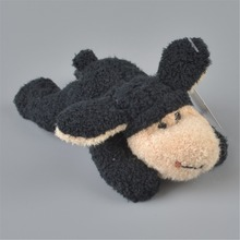 5 Pcs Black Color Sheep Stuffed Plush Fridge Magnet, Kids Learning & Home Decoration Gift Free Shipping(China)