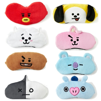 Jimusuhutu Skin Soft Touch Cartoon Eye Toy BT21 BTS Travel