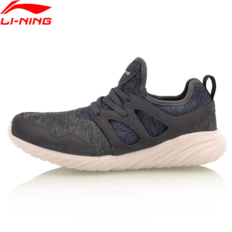Li-Ning Walking Shoes Edge Breathable Sneakers LiNing Light Comfort Men Sports Shoes AGCM057 YXB083<br>