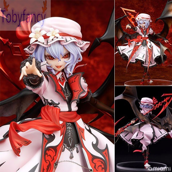 TouHou Project PVC Action Figure Remilia Scarlet Vampire 240mm Anime TouHou Project Collectible Model Toy Doll Gift<br>
