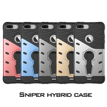 2016 Newest For iPhone 7 7 Plus Future Military Tank Armour Hybrid Armor Stents Case for iPhone 7 Plus back cover case Luxury