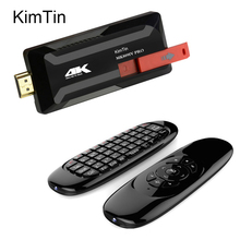 KimTin MK809 IV 4K Pro Android TV Stick RK3229 Quad Core 2GB 16GB 4K Android 5.1 TV Dongle KODI Miracast WiFi Smart Media Player(China)