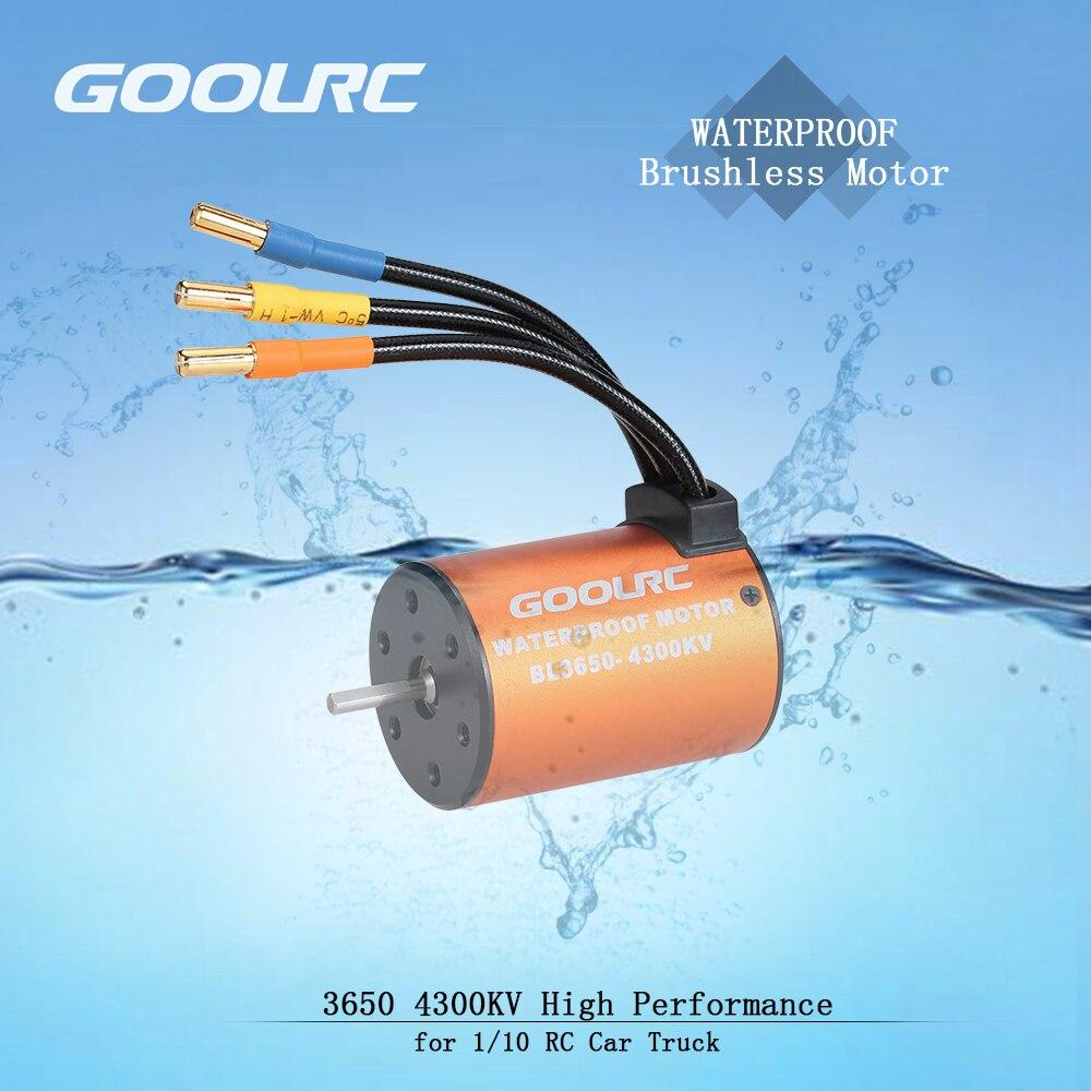 GoolRC Moteur 3650 3660 F540 3500KV 3100KV 3300KV 3800KV 3900KV 4300KV 4370KV Brushless Motor 45A 60A ESC for RC Car 110 Parts (5)