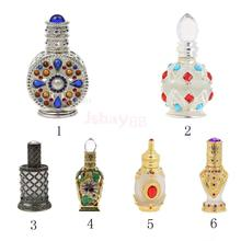 Vintage Empty Crystal Cosmetics Dropper or Spray Fragrance Bottles 6 Styles Choice(China)