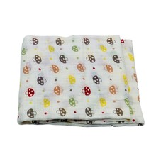 Comfort 100% Cotton Cartoon Bedding Baby  Blanket Newborn Infant Swaddle
