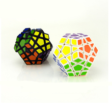 New Strange-shape Magic Cube Speed Cubes Pentagon 12 Sides Gigaminx PVC Sticker Dodecahedron Toy Puzzle Twist Toys(China)