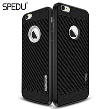 For iphone 6 Case, original SPEDU brands Phone Cases For iphone 7 7 PLUS 6 6s plus 5 5S SE Soft Silicone Cover Case For iphone7(China)