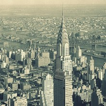 DIY frame 2 개 Choose Chrysler Building, new York City USA, 프리, 포스터 및 print 홈 decor (China)