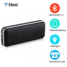 AEC BT202 Wireless Portable Speaker Super Thin Outdoor Bluetooth Speaker Play Stereo Music with Smart phone/ Answer Phone
