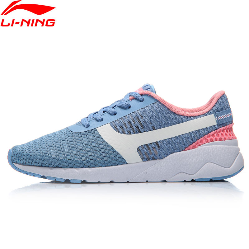 Li-Ning Womens Heather Sports Life Walking Shoes Leisure Breathable Sneakers Light Sports Shoes AGCM054 YXB042<br>