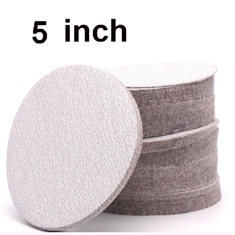 10pc 150mm Round Sander Sheets 40-2000Grit Sanding Disc Pads Polishing Paper