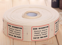 Free shipping quantity cotton labels clothing labels garment label personalized logo min order 1 lot/1000