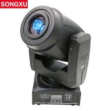 SONGXU 60W Led Moving Head Light Spot/Pattern Rotation Gobo 3 Face Prism DJ Stage Disco Light Nightclub Party Light/SX-MH60A(China)
