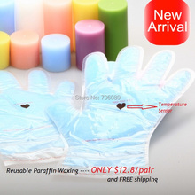 New Arrival Reusable Hand Mask Waxing Treatment with Temperature Sensor Enjoy SPA A variety of colors random delivery