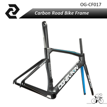 Buy OG-EVKIN 2017 Blue/Red Aero Carbon Road Bike Frame Bicycle Bicicleta Frameset Road Bike Frames UD BB386 Matte Size 48/50/52/54cm for $425.29 in AliExpress store