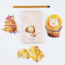 30 pcs/lot Cake Time postcard landscape greeting card christmas card birthday card message gift cards(China)