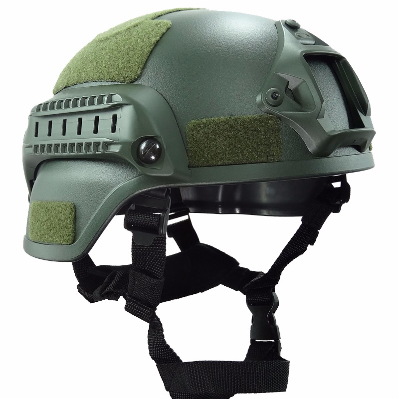 Tactical Mich 2000 Helmet Accessories Army Military Combat Head Equipment Airsoft Wargame Paintball Helmet<br>