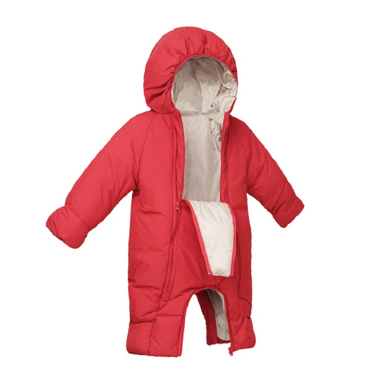 New Winter Baby Snow Overalls Newborn Snow Romper Duck Down Snowsuit For Toddlers Unisex Baby Onesie Thick Jumpsuit <br>