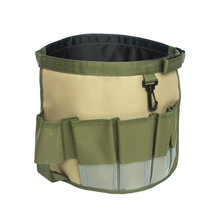 New Waterproof Multifunctional Durable Oxford Cloth Garden Tool Bag Practical Foldable Garden Bucket Bag for Gardening Tool Sale