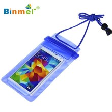 Binmer Multicolor New Travel Swimming Waterproof Bag Case Cover for Iphone 5 5s 6 6s Under 5.5 inch Phone  NOV23X40