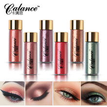Calance Brand Shimmer Glitter Eyeshadow Powder Makeup Brighten Mermaid Pigment Mineral Loose Eyes Shadow Highlighter Make Up Set