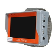 NEW 4.3 inch TFT LCD HD CCTV AHD Tester Monitor Analog Camera UTP Cable PTZ 12V Home Security(China)