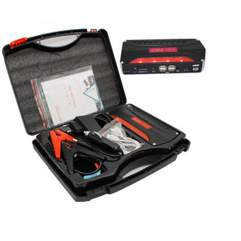 High Capacity Car emergency Jump Starter 12V Peak 600A Mini Portable Emergency Battery Charger Booster for Petrol &amp; Diesel Car<br>