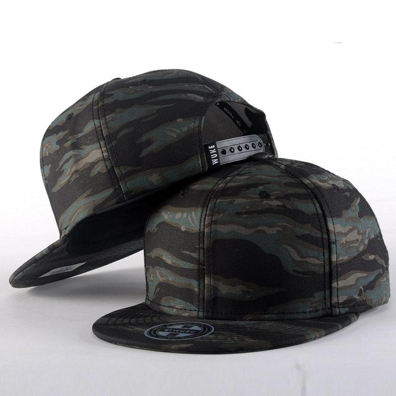 2016 High Quality Camouflage Street Flat Fashion Men Brand Hats Snapback Hip Hop Baseball Caps<br><br>Aliexpress