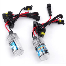 Buy New Auto Motorcycle Light Source 55W 12V Car HID Xenon Bulb Headlight Lamp Replacement 3000K 4300K 5000K 6000K 8000K 10000K for $20.01 in AliExpress store