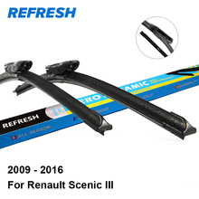 "Refresh Wiper Blades for Renault Scenic III 30""&26"" Fit Bayonet Arms 2009 2010 2011 2012 2013 2014 2015 2016"