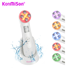 KONMISON Mesotherapy Electroporation RF Radio Frequency Facial LED Photon Skin Care Device Face Lifting Tighten Eye Facial Care(China)
