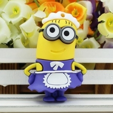 Free Shipping Usb Flash Memory Flashdrive 64gb 32gb 16gb Usb Flash Card Minion Minions 16 Gb Pen Drive 64 Gb 8g Gift Gifts
