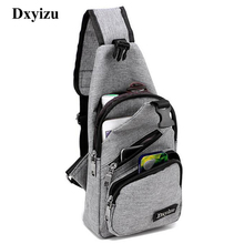 New Arrival Oxford Men Chest Pack Single Shoulder Strap Back Bag Crossbody Bags for Women Sling Shoulder Bag Back Pack Travel