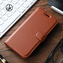 AKABEILA PU Leather Cases Covers For ZTE Blade S6 Q5 LUX S7 Cover Flip Wallet With Card Holder Smartphone Back Houisng
