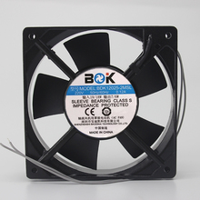 New BDK12025-2MSL 220V AC Axial Oil Bearing Bearing Cabinet Cooling Fan(China)