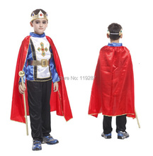 Shanghai Story Retail 4 size new boys halloween arab king cosplay costumes Prince suit for kids full children's costume