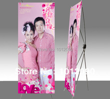 Aluminium exhibition X stands/X Banner Trade Show/X portable display/Size 160X60cm