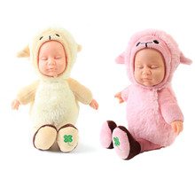 New arrival Baby Doll Lucky Ranch Series Soothing Sleep Dolls Brand Toys Girls Silicone Baby Dolls For Sale Big Discount(China)