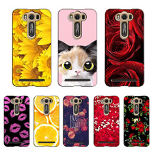 Popular Cover for Asus ZenFone 2 Laser 5.0 inch Colorful Printing Case Flower Fashion for ZenFone ZE500KL case cover Shell